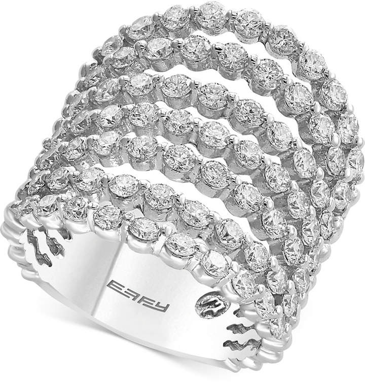 Effy Pave Classica by Diamond Multi-Layer Ring (2-3/4 ct. t.w.) in 14k White Gold