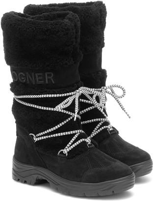 Bogner Alta Badia 2 shearling snow boots