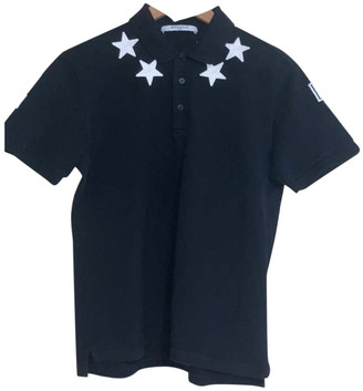 Givenchy Black Cotton Polo shirts