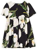 Dolce & Gabbana Ivory Tulip Print Dress with Knickers