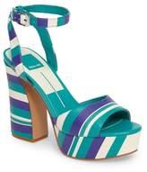 Dolce Vita Gavvin Stripe Platform Sandal