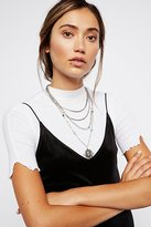 Free People Maritzah Medallion Necklace