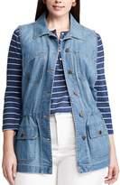 Chaps Plus Size Jean Vest