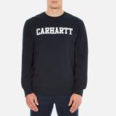 Carhartt Men's College Sweatshirt Navy/White