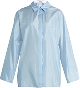 Nina Ricci Long-sleeved silk shirt
