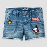 Cat & Jack Girls' Jean Shorts Cat & Jack - Medium Denim Wash