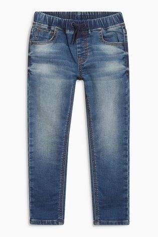 Boys Next Dark Wash Pull-On Super Skinny Jeans (3-16yrs)