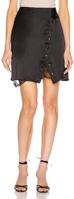 SABLYN Carmen Mini Skirt in Black | FWRD