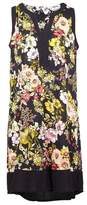Dorothy Perkins Womens Izabel London Multi Coloured Floral Print Fit And Flare Dress, Multi Colour