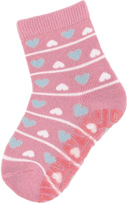 Sterntaler Girl's FLI Air Herzen Calf Socks