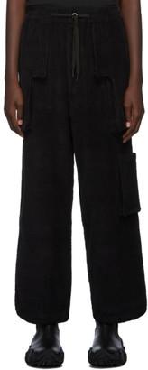 Perks And Mini Black B.T.C Return Corduroy Trousers
