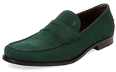 Tod's Suede Slip-On Loafer