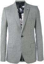 Alexander McQueen houndstooth blazer - men - Silk/Polyester/Viscose/Wool - 48