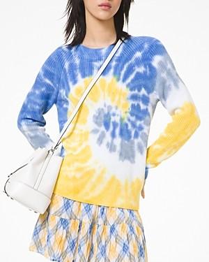 MICHAEL Michael Kors Tie Dyed Supima Cotton Sweater