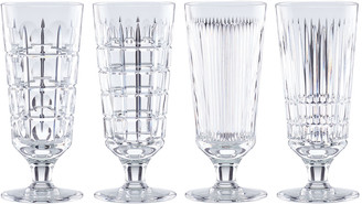 Reed & Barton New Vintage 4-Piece Iced Beverage Glass Set