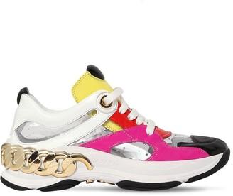 Casadei 30mm Dynamic Naplak & Plexi Sneakers