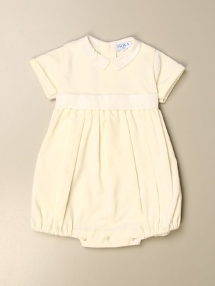 Siola Basic Romper With Bow