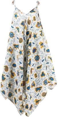 Loewe asymmetric hem dress