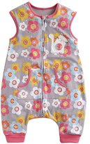 BOOPH Elephants Kids Wearable Blanket Baby Sleep Sack Zipper One Piece Grey L