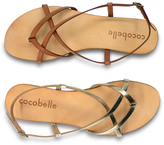 Cocobelle Brown Vera Leather Sandal