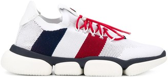 Moncler Mesh Detail Low-Top Sneakers