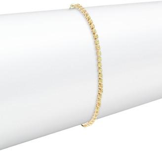 Effy 14K Yellow Gold & Yellow Sapphire Bolo Bracelet