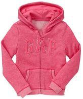 Gap Marled arch logo hoodie
