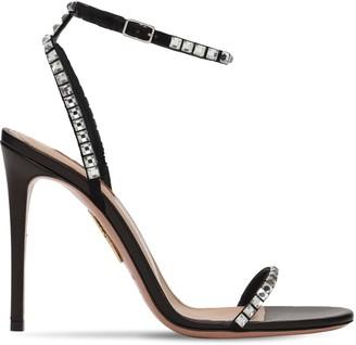 Aquazzura 105mm Very Vera Embellished Sandals
