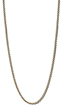 Zoë Chicco 14K Yellow Gold Tiny Cable Chain, 18