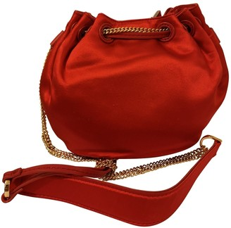Diane von Furstenberg Red Silk Handbags