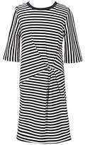 Copper Key Big Girls 7-16 Twisted Front-Knot Stripe Dress