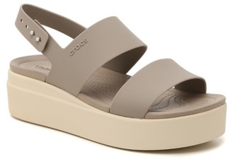 Crocs Brooklyn Wedge Sandal - Women's