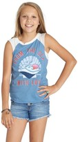 Billabong Girl's From The Sea Graphic Tank