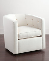 Horchow Betty Swivel Chair
