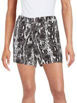 Calvin Klein Printed Linen Shorts