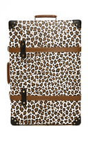 Charlotte Olympia x Globe-Trotter Leopard-Print Leather Shoe Case