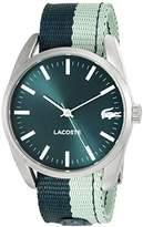 Lacoste Women's 2000924 Malaga Analog Display Japanese Quartz Green Watch