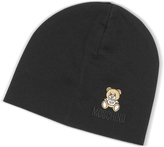 Moschino Solid Wool Teddy Bear Hat