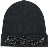 P.A.R.O.S.H. beaded beanie hat - women - Wool - S