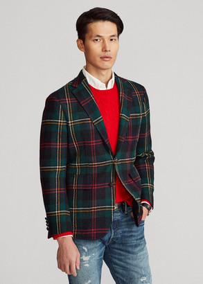 Ralph Lauren Polo Soft Plaid Wool Sport Coat