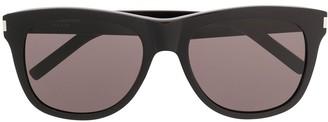 Saint Laurent Eyewear SL51 Over square-frame sunglasses