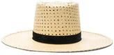 Janessa Leone Maxime Telescope Crown Panama Hat