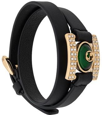 Gucci GG crystal bracelet