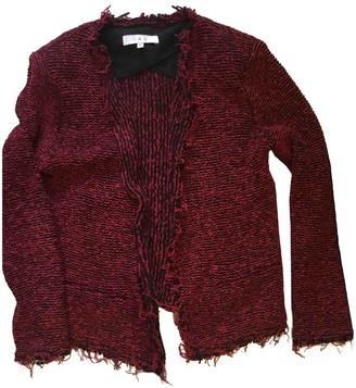 IRO Fall Winter 2018 Red Cotton Jackets