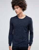 Minimum Davin Crew Melange Sweater