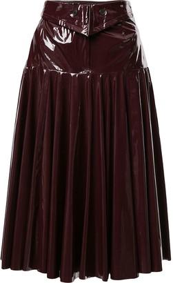 Palmer Harding A-line midi skirt