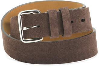Suede Belt With Harness Buckle