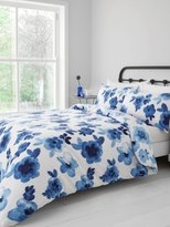 M&Co Ikat floral cotton duvet set