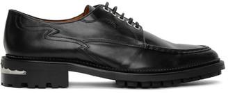 Toga Virilis Black Leather Oxfords