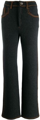 Barrie Contrast Stitch Trousers